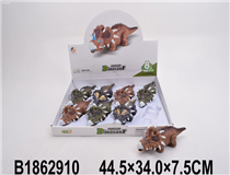 8PCS FRICTION DINOSAUR W/LIGHT