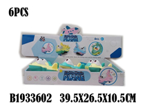 6PCS FRICTION PLANE W/LIGHT&MUSIC