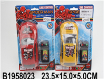 L/C CAR (3 COLOURS)(2 MIX)(SPIDER MAN)