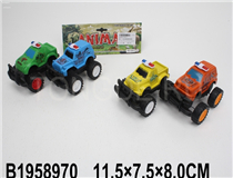 2PCS FRICTION POLICE CAR (4COLOURS)