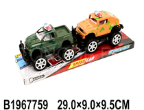 2PCS FRICTION POLICE CAR (2COLOURS)