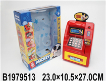 CASH REGISTER SET W/LIGHT&MUSIC(MICKEY MOUSE)