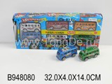 6PCS PULL BACK BUS